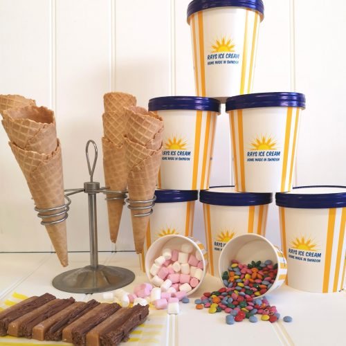 The Ice Cream Heaven bundle from Rays Ice Cream, Swindon, Wiltshire