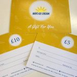 Rays Ice Cream gift vouchers