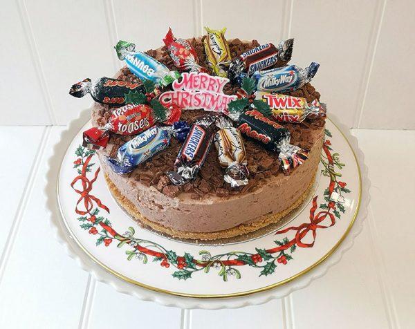 Celebrations Cheesecake, home made by Rays Ice Cream, Swindon