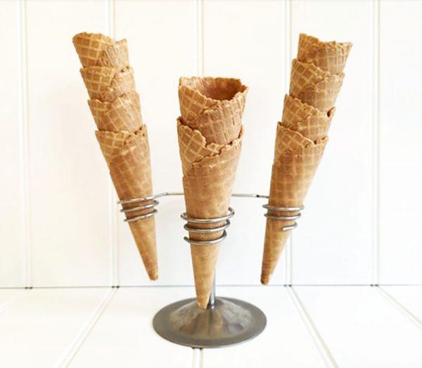 Antonelli waffle cones at Rays Ice Cream, Swindon