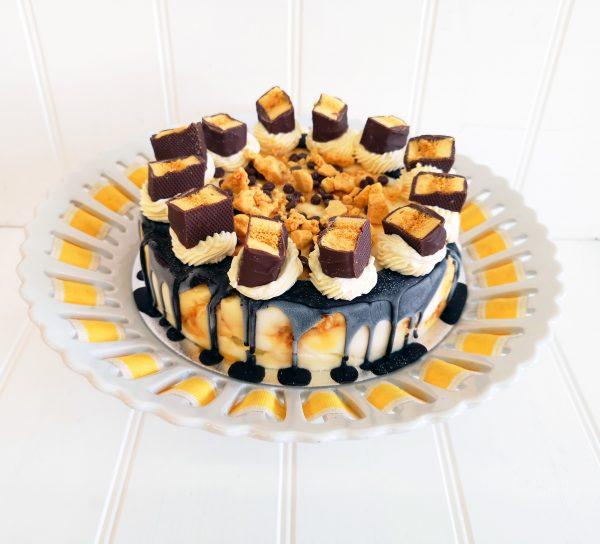 Honeycomb Crunchie Cake by Rays Ice Cream Swindon